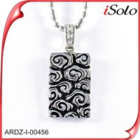ail express stainless stell jewelry jigsaw pendant druzy pendant