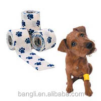 direct factory price cohesive bandage for materials tape veterinary latex free