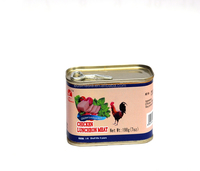 Canned chicken luncheon meat with 198g/340g