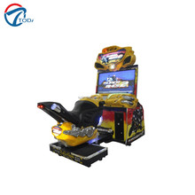 Toda coin operated racing motor simulator 4d arcade racing car game machines for children sale