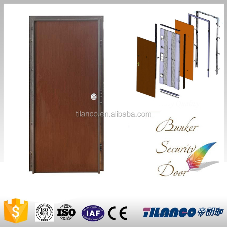 luxury & hight quality melamine fire door