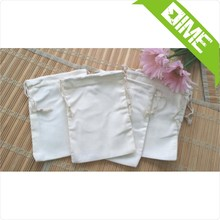 Hotsale Advertising Wholesale Drawstring Small Muslin Pouch Bag For Soap Promotion