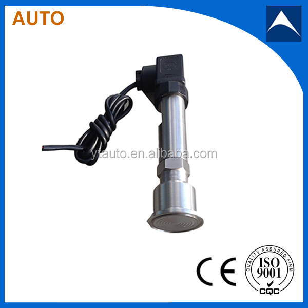 china manufacturer cheap sanitary type flush diaphragm pressure transmitter with 4-20ma output
