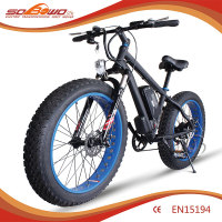 2016 48v 500w hub motor e bike sobowo fat tyre cheap electric bike for sale