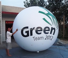 pvc giant fly balloon , inflatable helium balloon , giant sphere for sale H4085