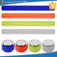 Low MOQ Custom Printed Snap Reflective PVC Band for Running/Walking
