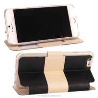 High Quality Flip View Window Cover Case for mobile phone iphone 6
