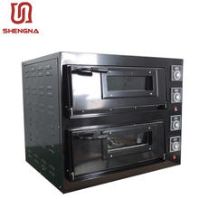 commercial bakery gas double deck factory professional cake baking/pizza oven equipments for restaurants