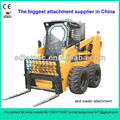 skid loader pallet fork (skid loader attachment,bobcat attachment)