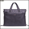 Latest design men custom trend leather handbag
