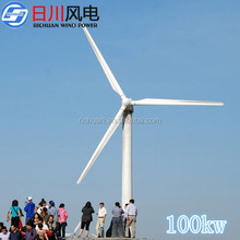 2015 new low rpm permanent magnet alternator,100kw wind generator price for selling magnetic generator