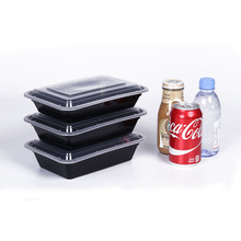 Wholesale biodegradable disposable pp salad plastic takeaway fruit sushi fast packaging microwave food container