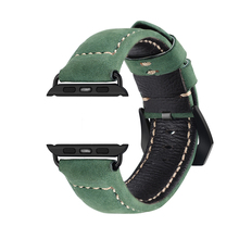 38mm 42mm leather watch band for apple