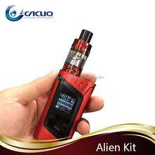 Vaporizer Love !!! Top Refill System 220W 3ml SMOK Alien Kit With TFV8 Baby Tank