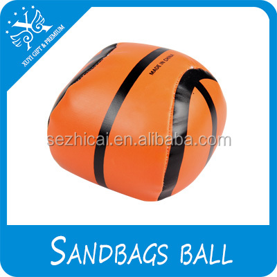 Basketball Kick Ball For Kids Sandbags Ball For Sale Sand Filled Custom Leather Juggling Ball