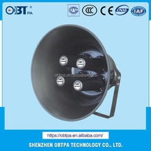 OBT-319 4inch 140W High Power PA System Horn Speaker for Railway Stations