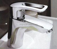 LongRun Chrome plating single level basin faucet