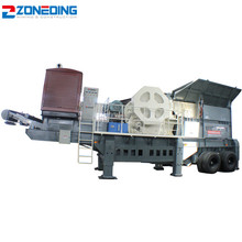 Factory rock crusher mobile stone mobile impact crusher plant black stone crushing plant price