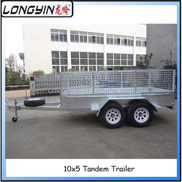 Galvanized tandem axle utility trailer manufacturers