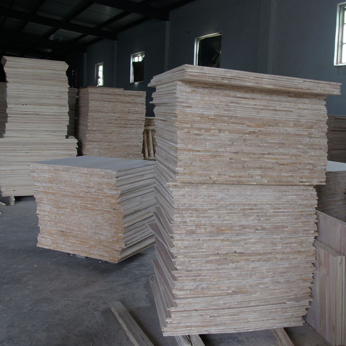 Chinese Paulownia wooden finger joint boards