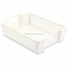 2017 new-design plastic A4 multipurpose storage basket for office