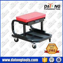 Auto Shop Creeper Seat Rolling Mechanic Chair Tool Tray Car Truck Repair Garage