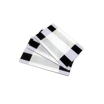PVC cleaning card with magnetic stripe  for ATM machine cleaning