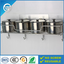 wholesale cheap price kitchen storage stainless steel water bottle holder/spice shelf