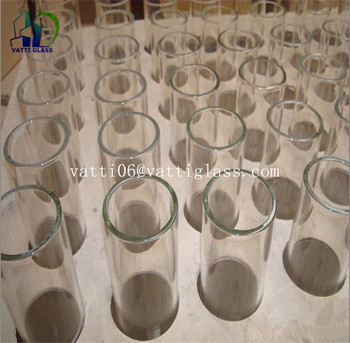 Customized Borosilicate Pyrex Glass Tube Pipes For Bong /Pipe/Bubbler