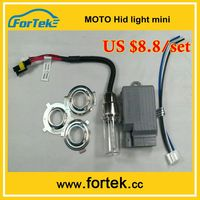 Mini luces hid xenon moto kit H6M/BA20d/H4/H7 6000K/8000K 35W/55W headlight