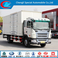 Factory Make 4X2 JAC Van Truck JAC MINI 6X4 Van Cargo Manufacturer 6 wheels JAC van trucks/box trucks