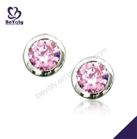 china direct sale cheap price diamond stud earrings wholesale