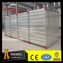 Low cost and high quality flat pack storage container