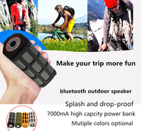Hi-Fi portable waterproof CSR 4.0 bluethooth speaker with nfc for outdoor