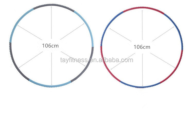 Top 10 High Quality Body Building Fitness Hula Hoop
