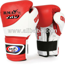 RMA Pro Boxing Gel Suspense Training Gloves Red / White