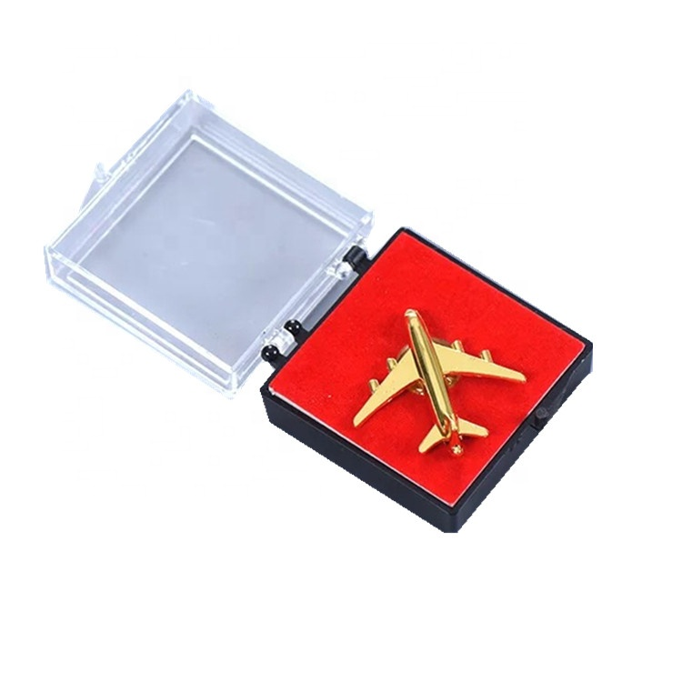 wholesale 3D airplane lapel pin custom make your own <strong>logo</strong>