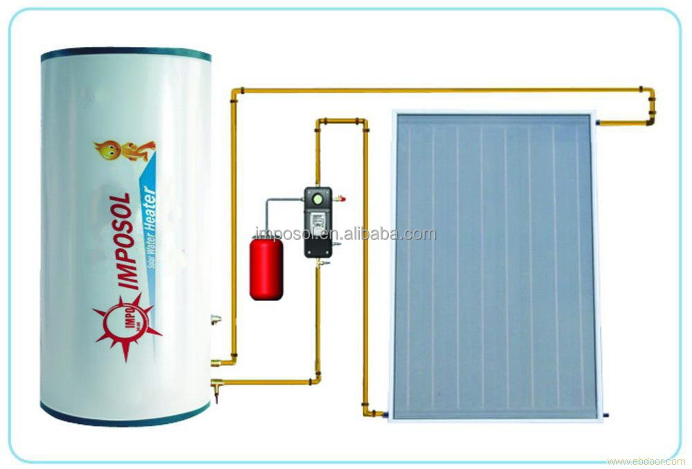 Pressurized Solar Power Water Heater System/Solar System Manufacturers in China