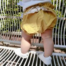 Summer kids trousers cute pants design cotton lovely baby shorts
