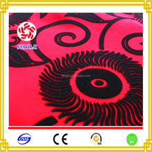 Polyester Furniture Decorative Cloth Flocking Fabric Material For Home Textile