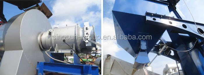 China Supplier CAP80 continuous asphalt drum mix plant for ROAD construction