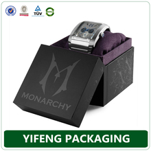 Customed-Made Luxury Watch Box Paper With LOGO Printing