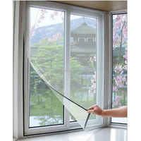 removable insect screen/ DIY velcro window mosquito net