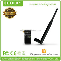 China factory EDUP 802.11n 300Mbps Mini Wireless micracast Wifi USB Adapter universal smart TV network cards EP-MS8512