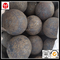hot heat treated ball mill forged steel grinding ball