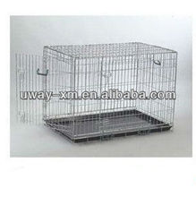 dog cage/ galvanized dog cage/dog transport cage