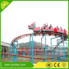Import From China Amusement Park Games Mini Dragon Roller Coaster Ride For Sale