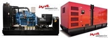 400 kVA MTU Diesel Generator, new, with original MTU engine, made in EU, open frame or soundproofed canopy