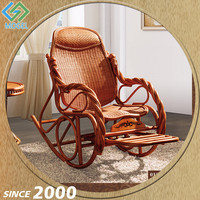 Factory Direct Sale Functional Outdoor Wicker Antique Rocking Chair