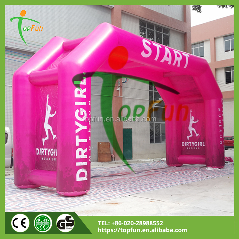 Fabric Cheap 4Legs Fashion Inflatable Arch For Sale